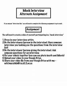 informational interview assignment sample template