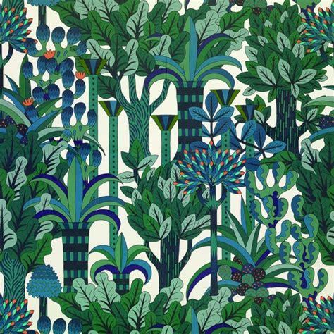 jardin d osier papier peint herm 232 s loulou jasmin