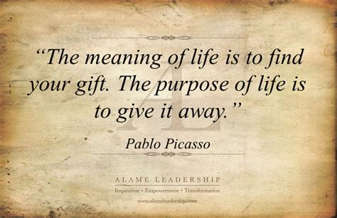 al inspiring quote  purpose  life alame leadership