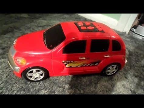 usa chrysler  automobile pt cruiser toy car showing