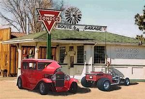 Garage Route 66 : route 66 garage ford cars background wallpapers on desktop nexus image 824757 ~ Medecine-chirurgie-esthetiques.com Avis de Voitures