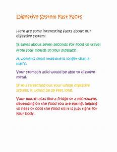 Digestive System Fast Facts 2