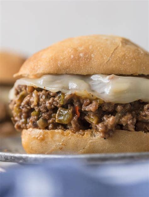 philly cheesesteak sloppy joes recipe easy weeknight