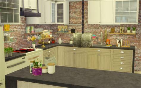 cuisine boheme chic sims 4 maison boheme cc custom content chic