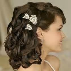 coiffure de mariage cheveux mi coiffure de mariage pour cheveux mi