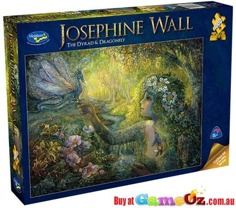 josephine wall  dryad  dragonfly holdson jigsaw
