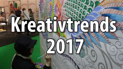 neue trends 2017 kreativtrends und bastel trends 2017 2018 der creativeworld 2017 in frankfurt