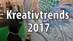 Neue Deko Trends 2018 : kreativtrends und bastel trends 2017 2018 von der creativeworld 2017 in frankfurt youtube ~ Watch28wear.com Haus und Dekorationen