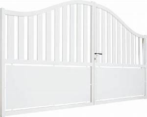 Portail 3 50m : portail alu rodez 3 50m blanc ~ Premium-room.com Idées de Décoration
