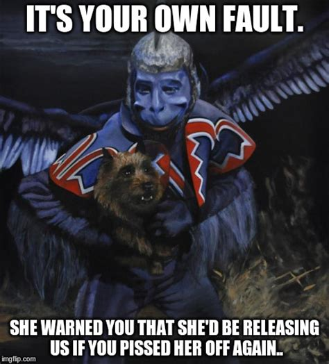 Flying Monkeys Meme - flying monkeys meme 100 images witch slap imgflip flying monkeys the chocolate manifesto