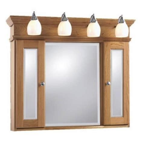 interior lighted medicine cabinet with mirror interior