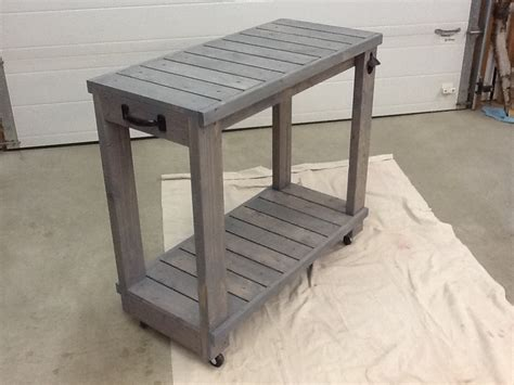 Rolling Bar by White Simple Rolling Bar Cart Diy Projects