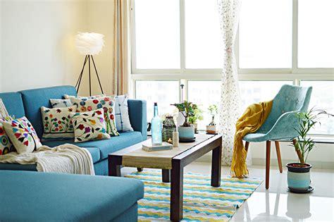 Mid Century Modern Living Room Interior Design Home Decor Ideas From Urban Ladder Urban Ladder