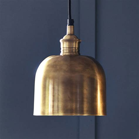 flori brass pendant light by rowen wren