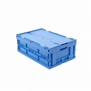 Transportboxen Kunststoff Mit Deckel : transportboxen walther faltsysteme faltbox aus hochwertigem pp mit deckel farbe blau ~ Eleganceandgraceweddings.com Haus und Dekorationen