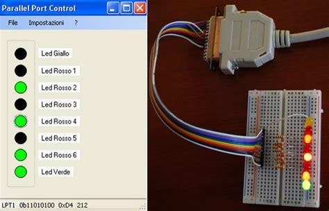 Porta Parallela Pc by Semplice Interfaccia Elettronica Di Controllo Con La Porta