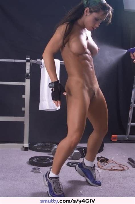 babe best boobs girl hot muscled naked nude sexy sport sporty woman
