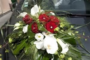 fleurs pour mariage ventouse voiture pour bouquet de fleurs occasion du mariage