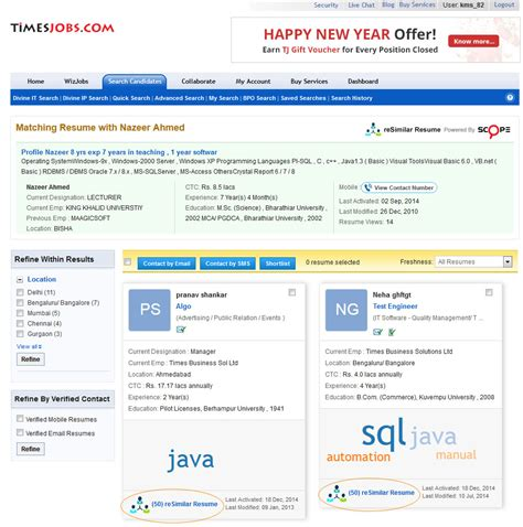 the official recruiter timesjobs news tips