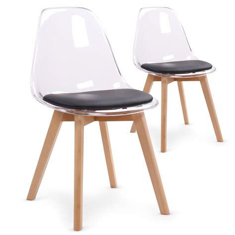 chaise bois design chaise design plexi et bois chaise et tabouret chaise