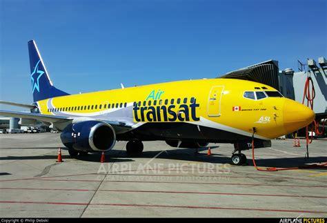 c gtqp air transat boeing 737 700 at toronto pearson
