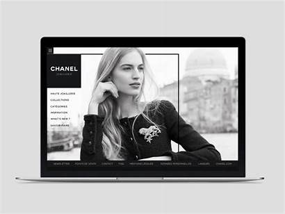 Chanel Website Web Redesign Brand Site Dribbble