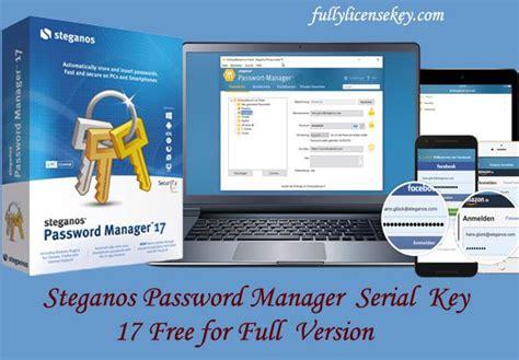 steganos password manager  serial key  full version