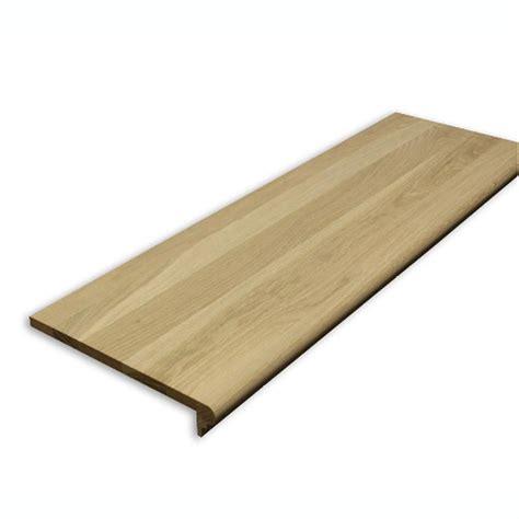 lowes white oak shop stairtek retrotread 11 5 in x 48 in unfinished white oak stair tread at lowes com