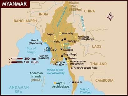 Myanmar Yangon Map Where Myanamar Bienvenue Travel