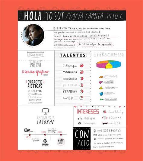 Contoh Curriculum Vitae Graphic Design by Contoh Desain Resume Cv Unik Untuk Inspirasi