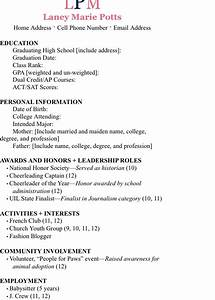 Personal Profile Format In Resume Example Resume Sorority Resume Resume Profile Resume