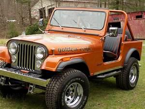 1979 Cj7 Golden Eagle Fresh Frame Off Restoration  Rust
