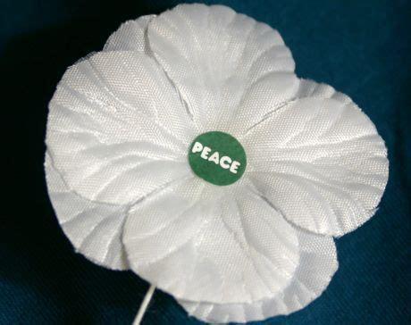 White Poppy by On November 11 Wear A White Poppy Instead Socialist Ca