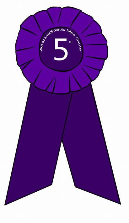 5th Place Ribbon Fifth Clipart Prize Fourth