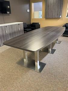 Custom, Boat-shaped, Conference, Table