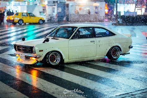 old nissan coupe shakotan fever teru 39 s datsun sunny coupe