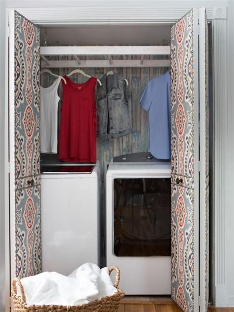 add a mudroom or a laundry in a small space hgtv