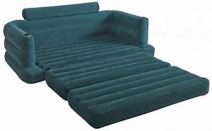 intex inflatable pull out sofa and king size bed mattress With king size pull out sofa bed