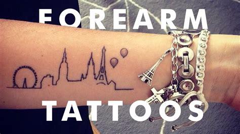 awesome forearm tattoos youtube