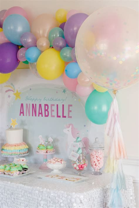 magical unicorn birthday party birthday party magical unicorn birthday party project nursery