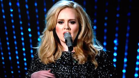 "Adele Performs James Bond Theme ""skyfall"