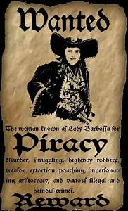 wanted pirate by theladybarbossa on deviantart With wanted pirate poster template