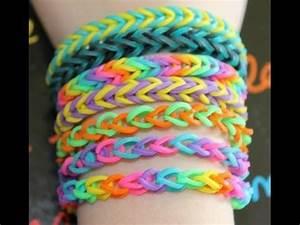 Bracelet Avec Elastique : bracelet lastique avec machine youtube ~ Melissatoandfro.com Idées de Décoration
