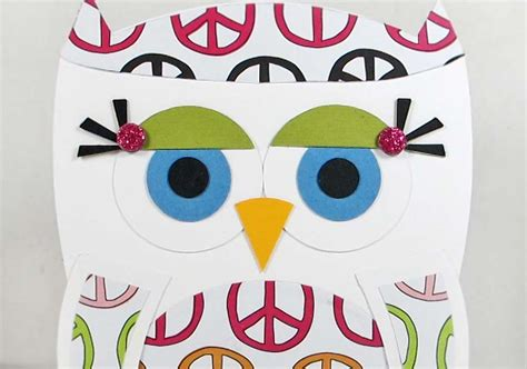 Paper Chase Peace Owl
