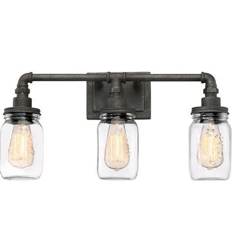 Lamps.com: Quoizel   SQR8603RK   Squire Rustic Black 3