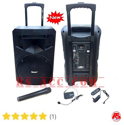 Harga Wireless Merk Toa jual harga murah speaker portable wireless pa