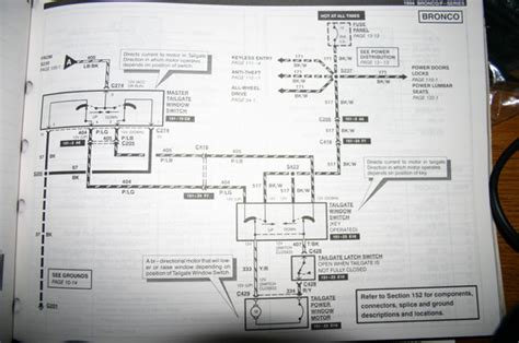 Ford Bronco Tailgate Wiring Diagram Picture
