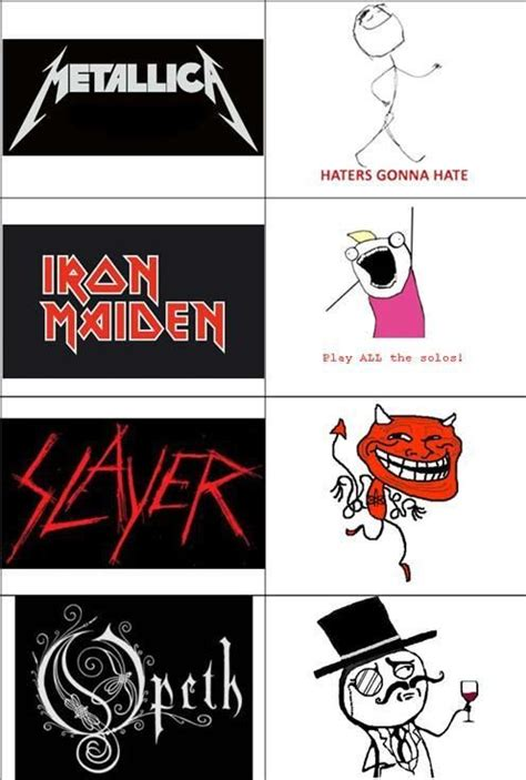 Heavy Metal Meme - heavy metal memes lolol alex s interest pinterest