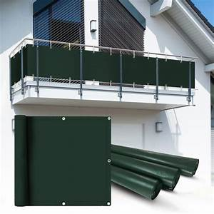 Balkon Sichtschutz Grün : pvc balkon sichtschutz sichtschutzfolie gr n 6x0 9m heim garten sichtschutz balkon ~ Markanthonyermac.com Haus und Dekorationen