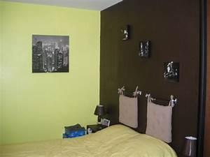 Deco Vert Anis : d co chambre vert anis et chocolat ~ Teatrodelosmanantiales.com Idées de Décoration